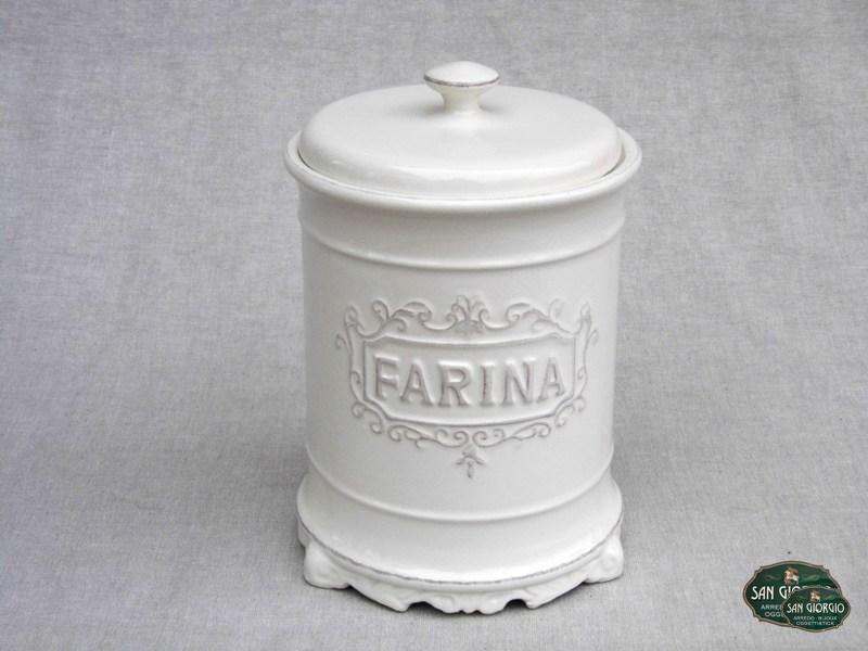 barattolo porta farina c1107 - san giorgio - Farina Arredo Bagno